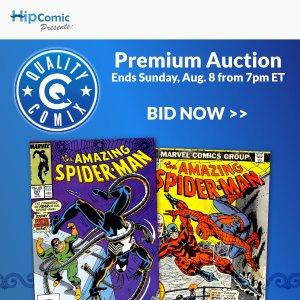 Quality Comix Premium Auction Event #34