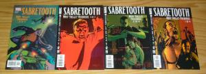 Sabretooth: Mary Shelley Overdrive #1-4 VF/NM complete series x-men spinoff 2 3