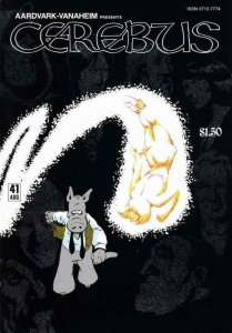 CEREBUS the AARDVARK #41, VF, Dave Sim , 1977 1982, more in store