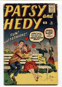 Patsy and Hedy #70 1960- Paper Dolls- Marvel Comics G