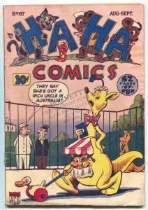 HA HA #67 1949- Golden Age Funny Animals G/VG
