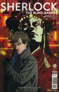 Sherlock: The Blind Banker #5A VF/NM; Titan | save on shipping - details inside