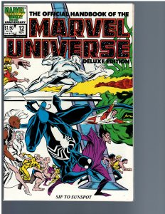 The Official Handbook of the Marvel Universe #12 (1986)