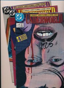 SET of 3-DC UNDERWORLD #2, #3, & #4  VERY FINE (SRU759)