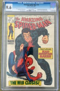 THE AMAZING SPIDER-MAN #73 CGC 9.6 -- 1ST SILVERMANE & MAN-MOUNTAIN MARKO LEE