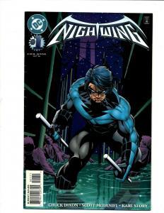 Nightwing # 1 FN DC Comic Book Batman Gotham Joker Robin Catwoman Penguin J371