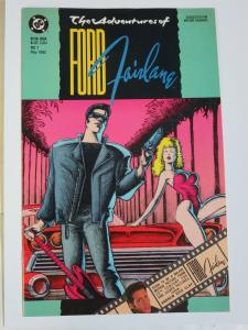 The Adventures of Ford Fairlane #1 (DC 1990) Russel Braun (1st Published Work)