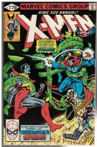 X MEN ANN  4 FN- 1980