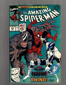 The Amazing Spider-Man # 344 FN/VF Marvel Comic Book Venom Cardiac Goblin J450