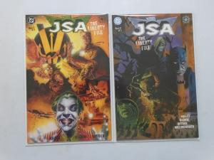 JSA The Liberty File #1-2 - 8.5 VF+ - 2000