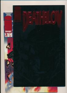Image Comics DEATHBLOW/CYBERNARY(flip issue)#1 VF/NM  (PF869)