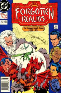Forgotten Realms (DC) #5 (Newsstand) VG; DC | low grade comic - save on shipping