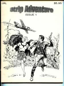 Strip Adventure #1 1992-JAL-Phantom-Mandrake-Tarzan-VF