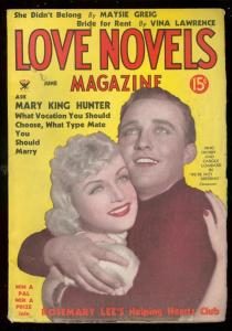 LOVE NOVELS PULP JUNE 1934-BING CROSBY & CAROLE LOMBARD FN