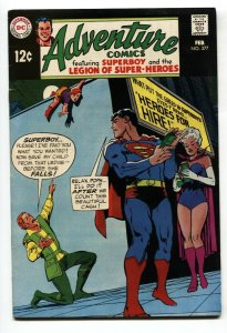 ADVENTURE COMICS #377 1968-PSYCHEDELIC STORY-SUPERBOY-LEGION SUPER HEROES-VF-