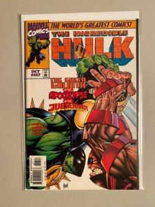 Incredible Hulk #457 NM (1997)