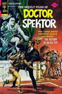 Occult Files of Dr. Spektor, The #10 FN; Gold Key | save on shipping - details i