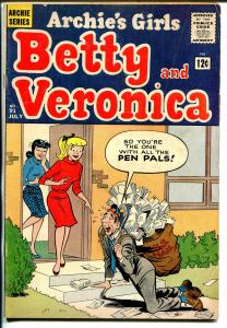 Archie's Girls Betty & Veronica #91 1963-mailman cover-VG