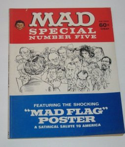 Mad Special #5 No Poster 1971 EC Publications Magazine FN/VF