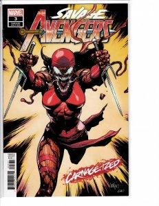 Savage Avengers (2019) #3 VF/NM (9.0) Carnegized variant