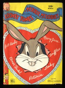 Looney Tunes and Merrie Melodies #29 VG+ 4.5 White Pages
