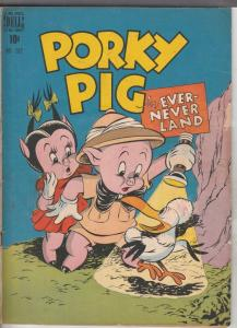 Four Color #182 (Feb-48) FN- Mid-Grade Porky Pig, Sylvester Cat, Petunia Pig,...