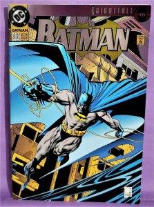 Knightfall 19 BATMAN #500 Joe Quesada Die-Cut Double Foil Cover (DC, 1993)!