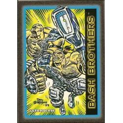 1993 Skybox Ultraverse: Series 1 BASH BROTHERS #4