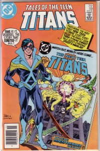 Tales of the Teen Titans   #59 VF (rep. DCCP 26)