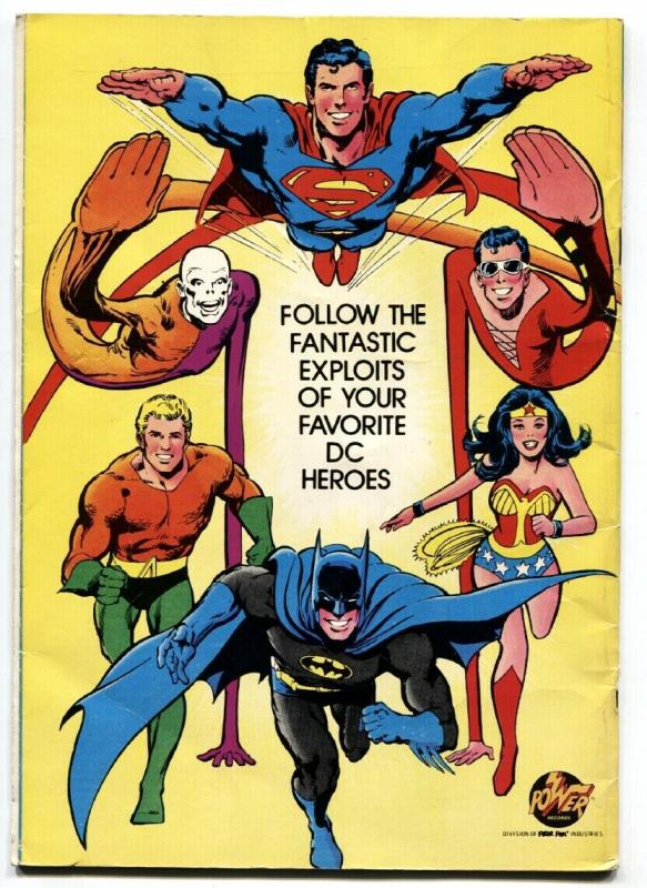 BATMAN BOOK AND RECORD SET-1976-MAN-BAT-Neal Adams