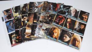 2000 Topps X-Men movie Cards Set of 72, Wolverine, Storm,Toad, Professor X etc
