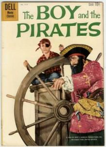 BOY & THE PIRATES (1960 DELL) F.C.1117 G-VG Charles Her COMICS BOOK