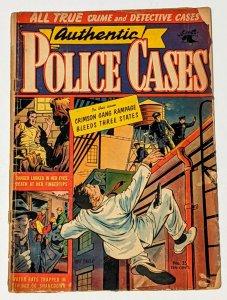 Authentic Police Cases #35 (Sept 1954, St. John) Good 2.0 Matt Baker cover