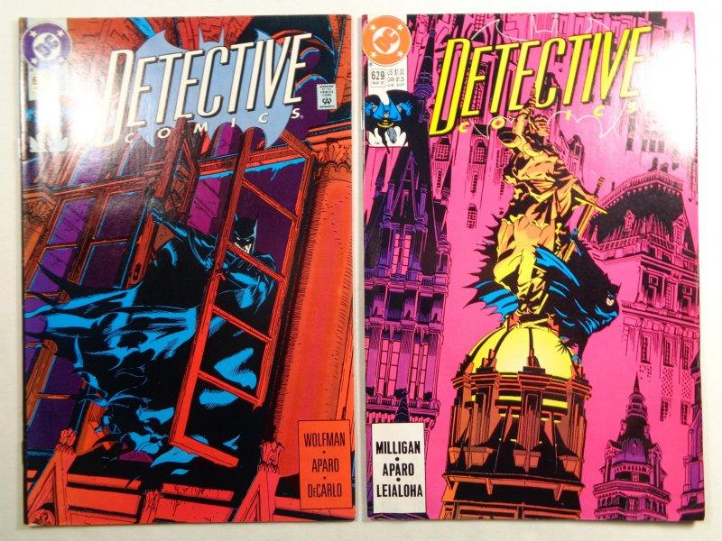 Lot of 34 Detective Comics Batman