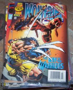 WOLVERINE # 103 july  1996 marvel  xmen  elektra onslaught