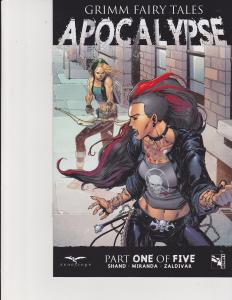 Grimm Fairy Tales Apocalypse #1 Cover D Zenescope Comic GFT NM Brescini