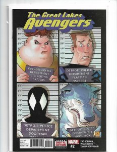 Great Lakes Avengers #2 in Near Mint condition. Marvel comics nw118