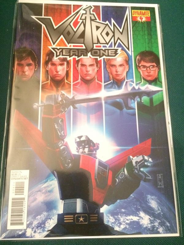 Voltron YEAR ONE #4