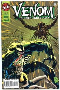 Venom: Sinner Takes All #4 1995-Sin-Eater -VF/NM