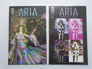 Aria Summers Spell, Set:#1+2, 8.0/VF (2002)