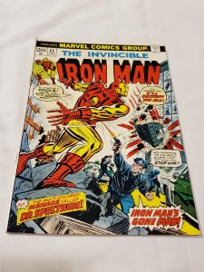 Iron Man 65 FN Cameo appearances by Luke Cage and Thor