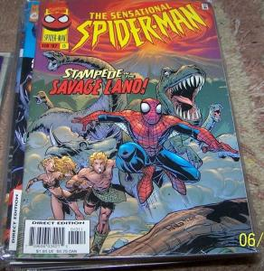 SENSATIONAL SPIDER-MAN COMIC # 13  1996  Marvel  KA-ZAR SAVAGE LAND SHIELD