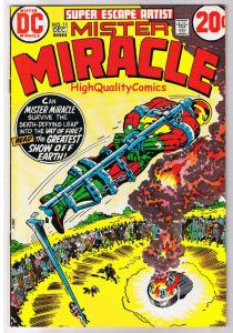 MISTER MIRACLE #11, FN+, Jack Kirby, 4th World, 1971, more JK in store