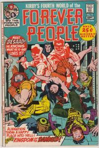 Forever People #4 (Sep-71) VF/NM High-Grade Big Bear, Beautiful Dreamer, Seri...