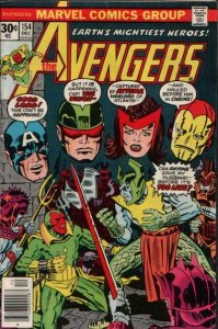 AVENGERS #154 (NG) stock photo
