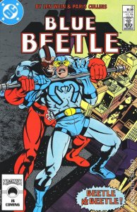 DC BLUE BEETLE (1986 Series) #18 VF/NM