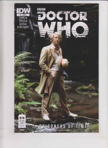 Doctor Who: Prisoners of Time #5 VF/NM retailer incentive davison photo variant