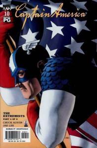 Captain America (2002 series) #10, NM (Stock photo)