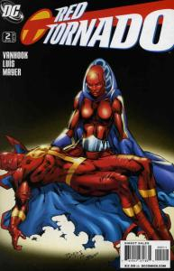 Red Tornado (2nd Series) #2 VF; DC | save on shipping - details inside
