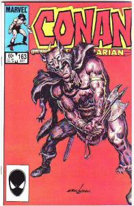 Conan the Barbarian #163 (Oct-84) NM/MT Super-High-Grade Conan the Barbarian